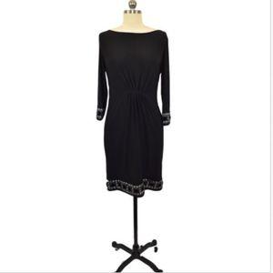 Tiana B. Black Evening Dress Size XS